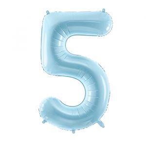 86cm Folieballon Pastel Blauw 5