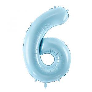86cm Folieballon Pastel Blauw 6