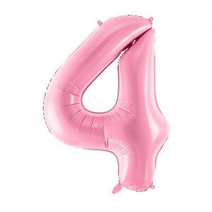 86cm Folieballon Pastel Roze 4