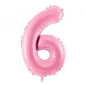 86cm Folieballon Pastel Roze 6