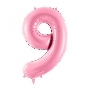 86cm Folieballon Pastel Roze 9