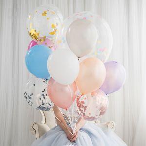 Confetti ballonnen zilver (6st) House of Gia