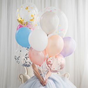 Ballonnen peach (10st) Perfect Basics House of Gia