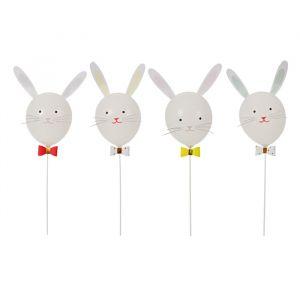 Ballonnenset konijnen (4st) Meri Meri