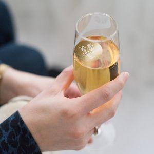 Champagnemuntje Happy New Year goud