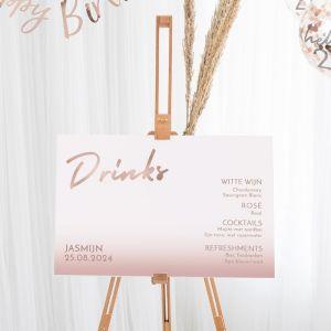 Cocktailbord verjaardag hello collectie
