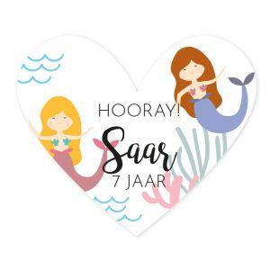 Etiket hart zeemeerminnen