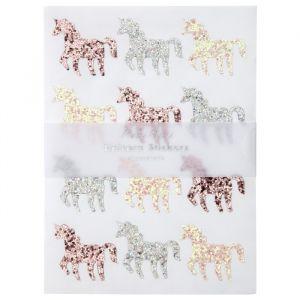 Glitter stickers Unicorn Meri Meri