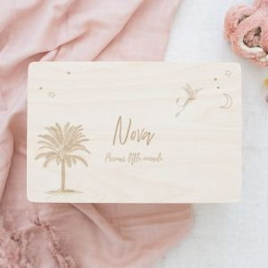 Memorybox baby palmboom