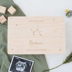 Memorybox baby sterrenbeeld