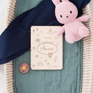 Gepersonaliseerd babyboek hello world