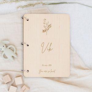 Gepersonaliseerd babyboek botanical