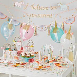 Unicorn uitdeelzakjes (8st)