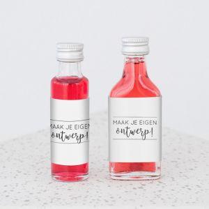 mini flesje eigen ontwerp