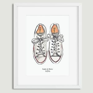 Aquarel illustratie allstars door Sophie de Ruiter