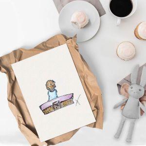 Illustratie baby Sophie de Ruiter