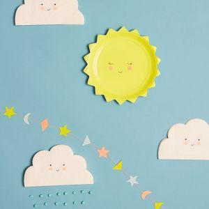 Bordjes zon baby Meri Meri (12st)