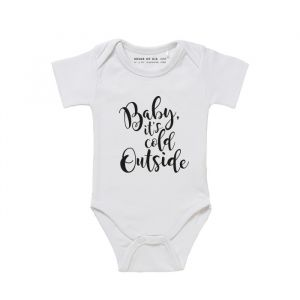 Baby Romper Baby It's cold outside