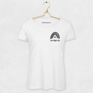 T-shirt mama met regenboog