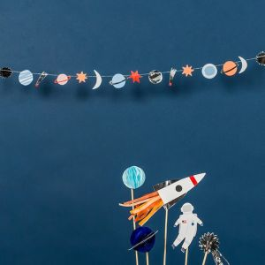Mini slinger zilver To The Moon Meri Meri