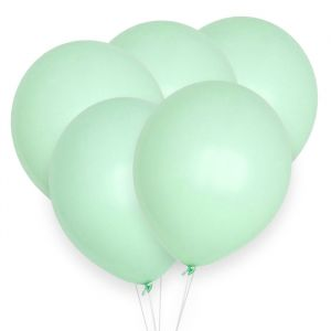 Pastel ballonnen licht mint (10st) House of Gia