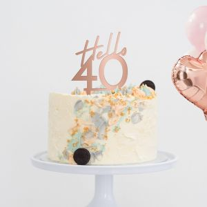 Taarttopper hello 40