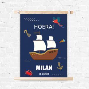 Verjaardag poster Pirates Bounty