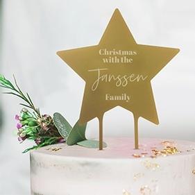 Kerst taarttopper