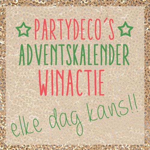 Partydeco adventskalender