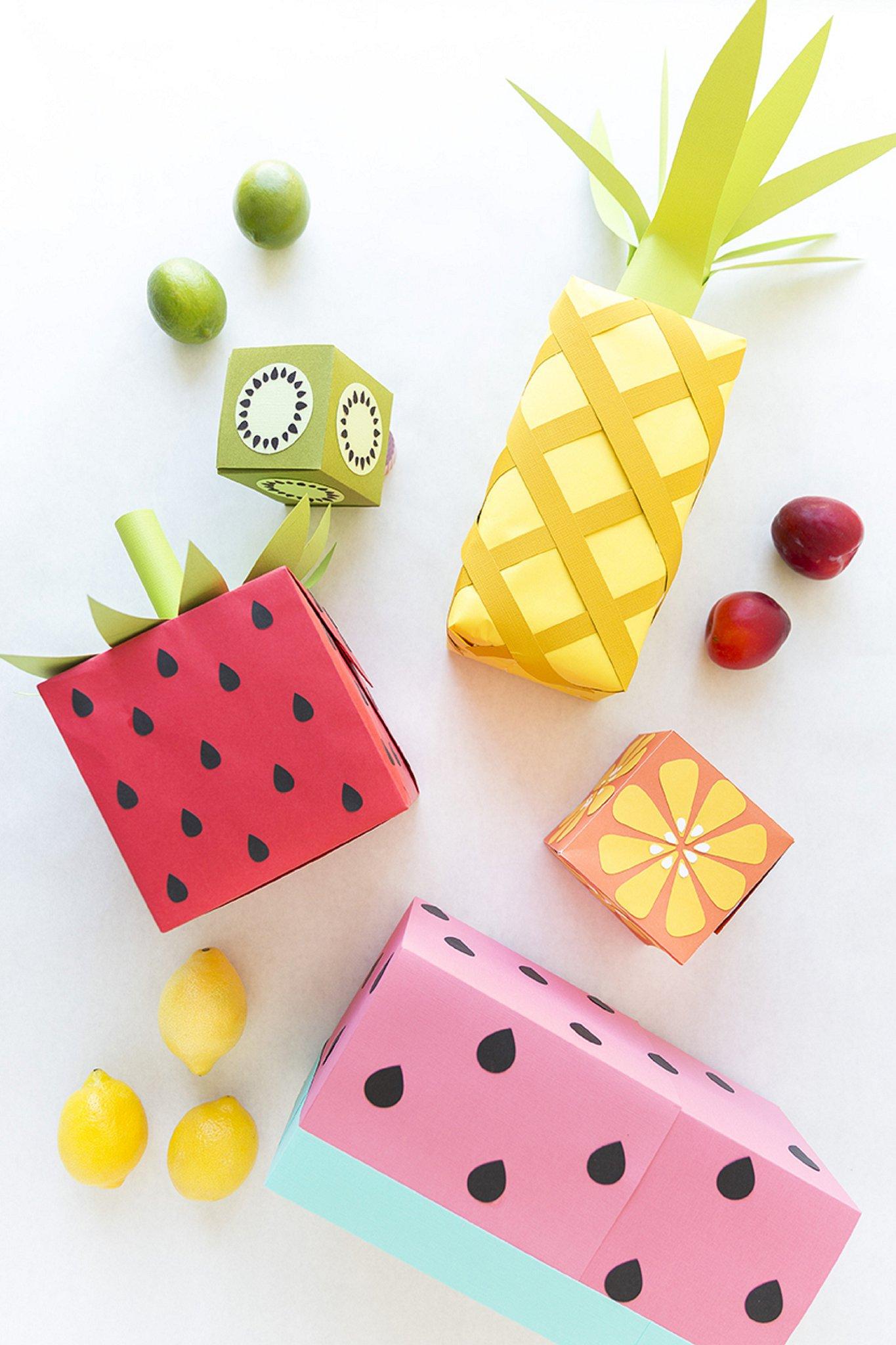 Inpakken fruit
