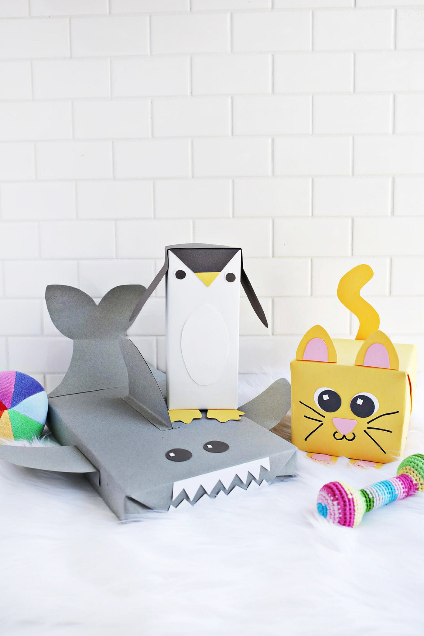 Inpakken dieren