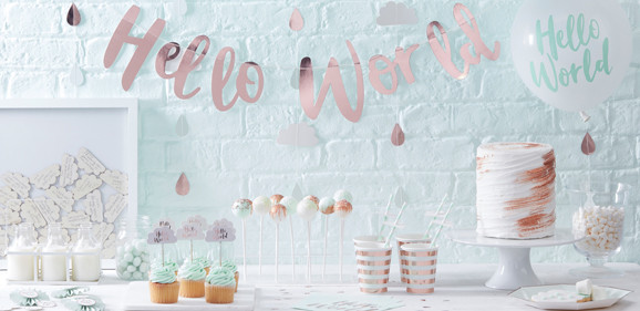 Hello World Babyshower collectie!