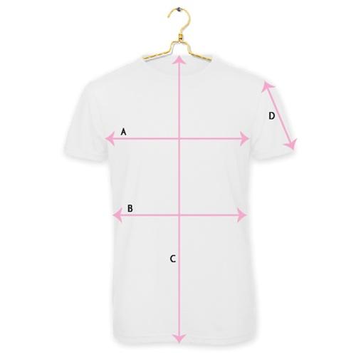 Maattabel textiel t-shirt Heren