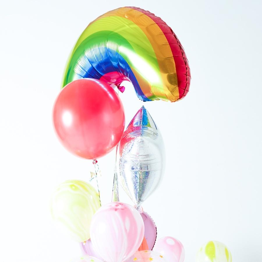 Regenboog ballon