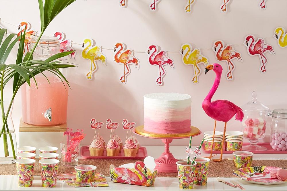 Thema feestje: Flamingo Fun