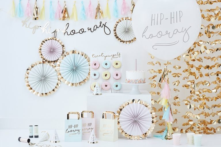 Trend: pastel party thema