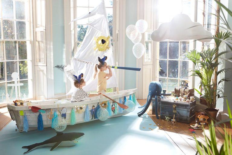Schip ahoy: piraten kinderfeestje