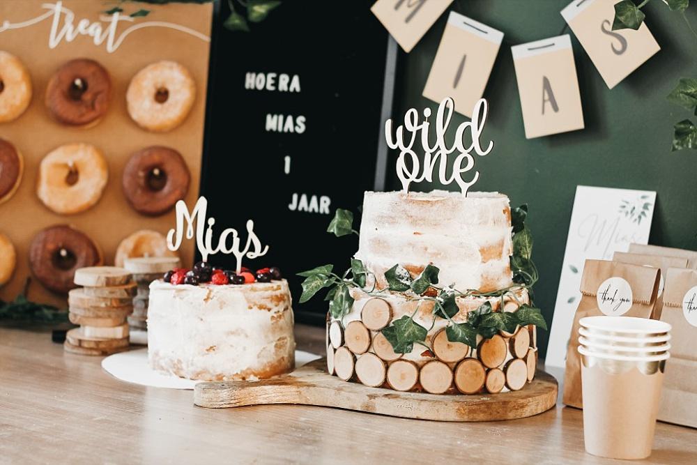 Originele taartdecoratie en taartversiering