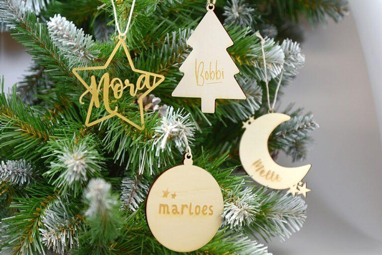 Originele decoratie voor de kerstboom
