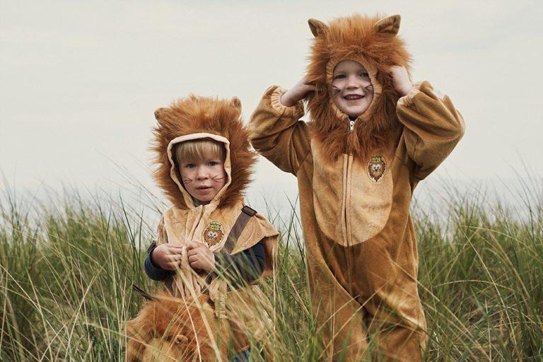 Verkleedkleding voor kinderen met fantasie