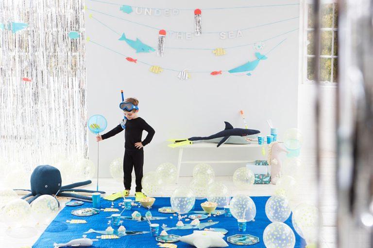 Thema kinderfeestje: under the sea