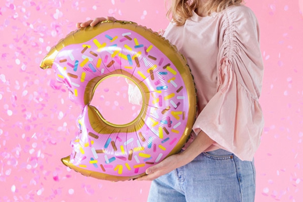 partydeco, donut folieballon