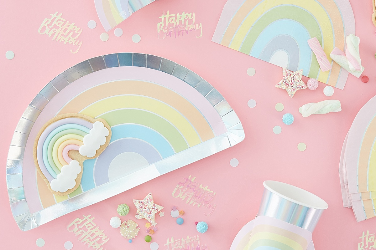 Trend: pastel party thema, partydeco