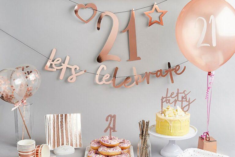 De leukste items voor een 21 jarig feestje