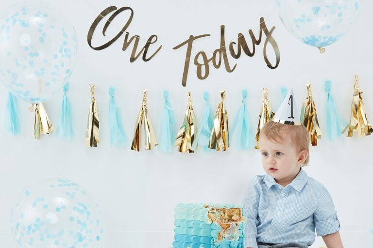 Zo vier jij de eerste verjaardag van jouw kleintje!