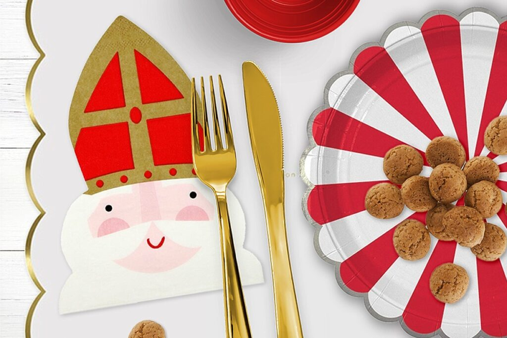 Zo organiseer je een Sinterklaas feestje, partydeco