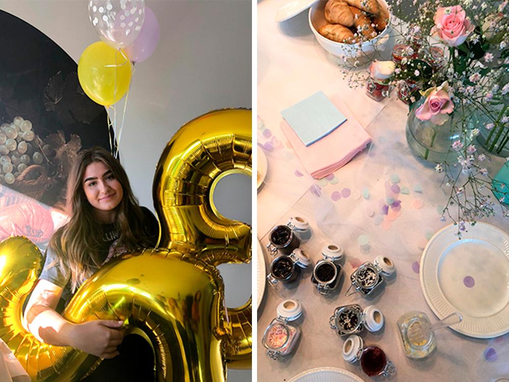 Pastel party Sophie de Ruiter