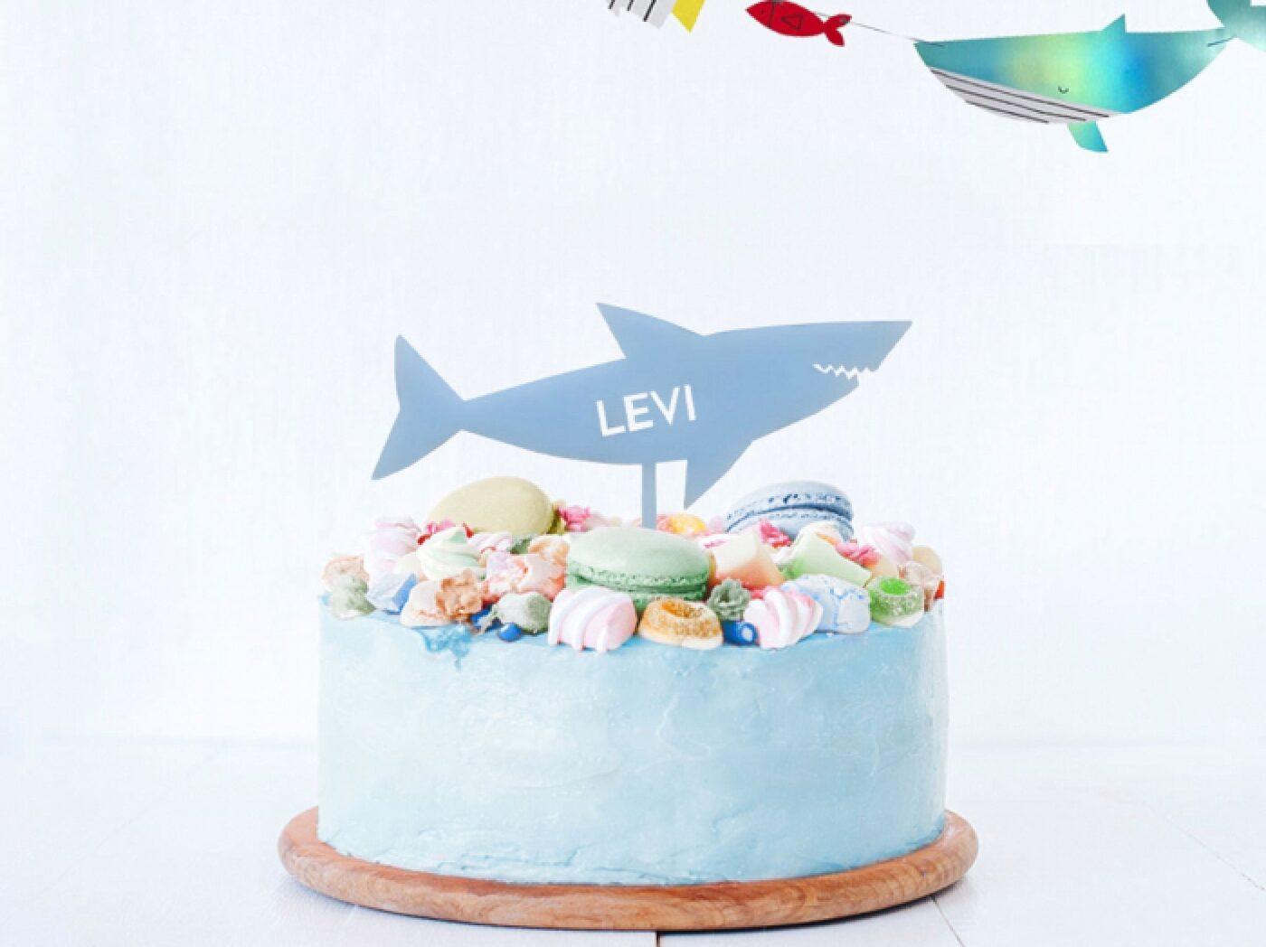 Hoe organiseer je een shark-tastic kinderfeestje?, partydeco