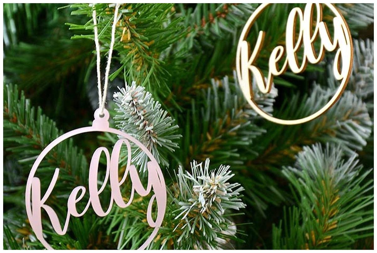 kersthangers met naam, Partydeco.nl
