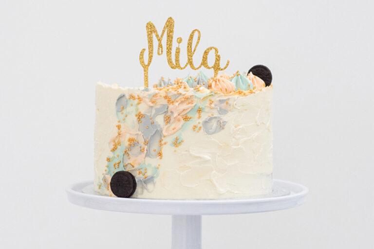Hoe maken wij een gepersonaliseerde taarttopper?